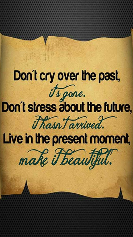 Past..Future...Present..