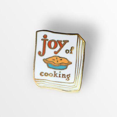 Joy Of Cooking Enamel Pin