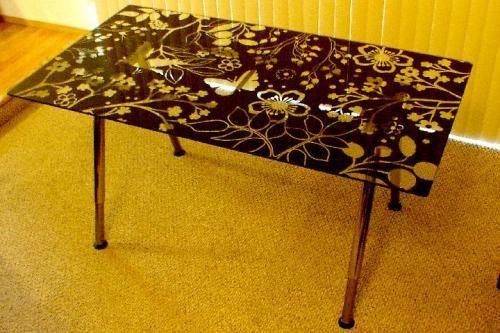Ikea Schreibtisch Vika Glasholm ~   top desk IKEA  Table tops  VIKA system  VIKA GLASHOLM VIKA LINDVED