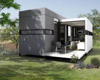 Casa modular por afuera