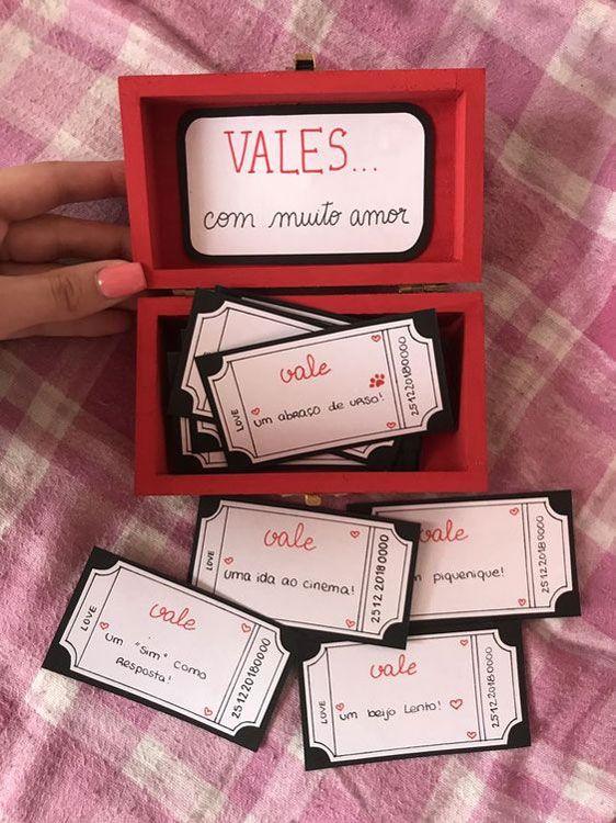 Caixinhas Surpresas Para Namorado Separamos 50 Ideias Bem