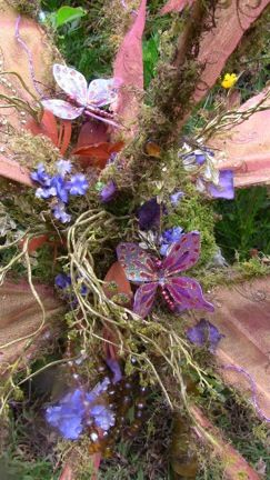 Fairy: Centerpiece, Purple Enchanted, Night Crafting, Nights Dream Medieval, Color, Midsummer S Night, Lavender And Purples, Midsummers Nights