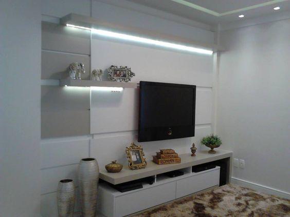 iluminação embutida nos móveis, uma ótima proposta, fitas led.