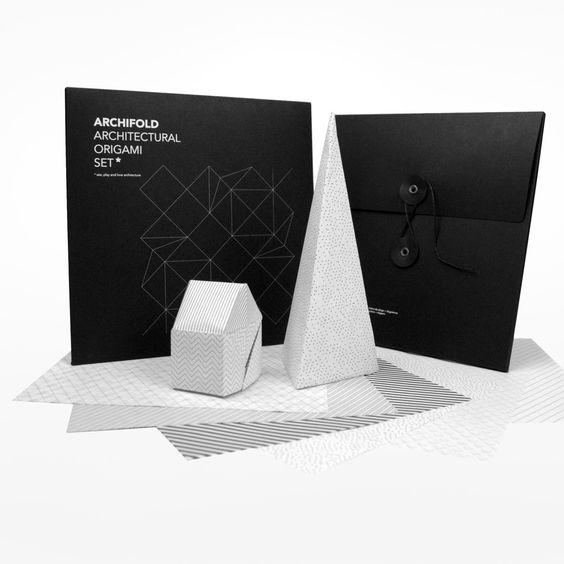 Archifold Architectural Origami Set Origami Set Origami Design