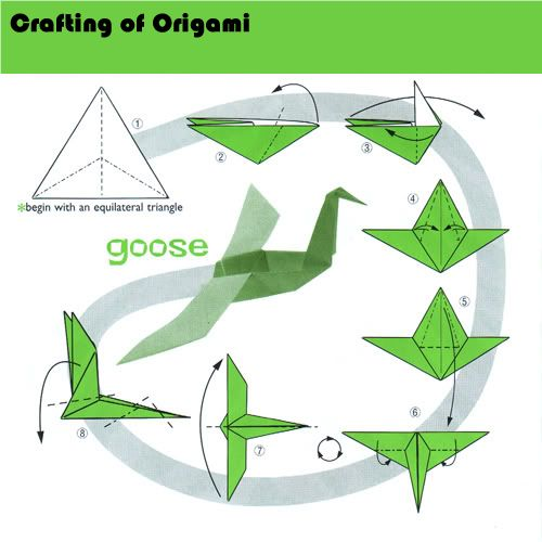 goose origami 28 images goose origami by mitanei on