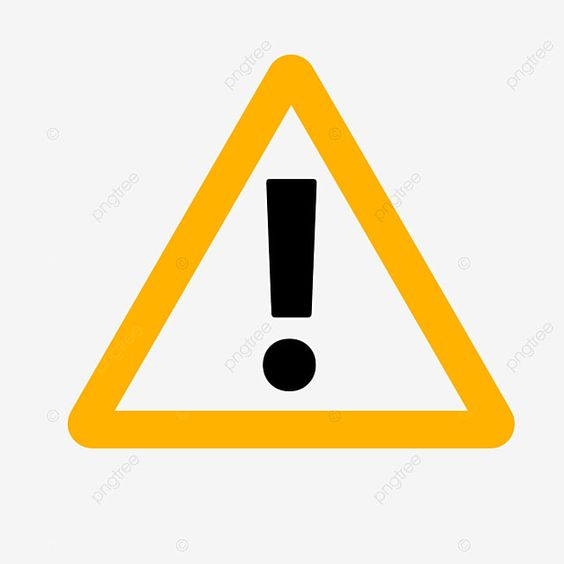 Black Exclamation Mark Warning Sign On Yellow Triangle Warning Clipart Sign Triangle Png Transparent Clipart Image And Psd File For Free Download Triangle Clip Art Warning Signs