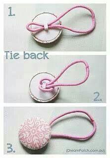 Haargummis mit Material von Lindobu selber machen: http://www.lindobu.com/spitzen-borten/kordel/elastische-kordel.html