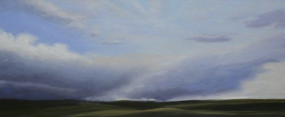 Slice of Heaven 30X72 oil on canvas Jamie Kirkland