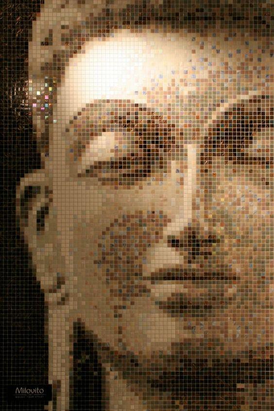 #Mosaic #Buddha #Milovito #FlowConnection 141 x 214cm
