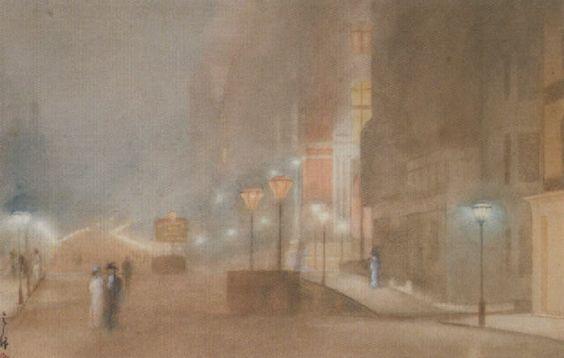 Yoshio Markino (1874-1956) - The Victoria and Albert Museum