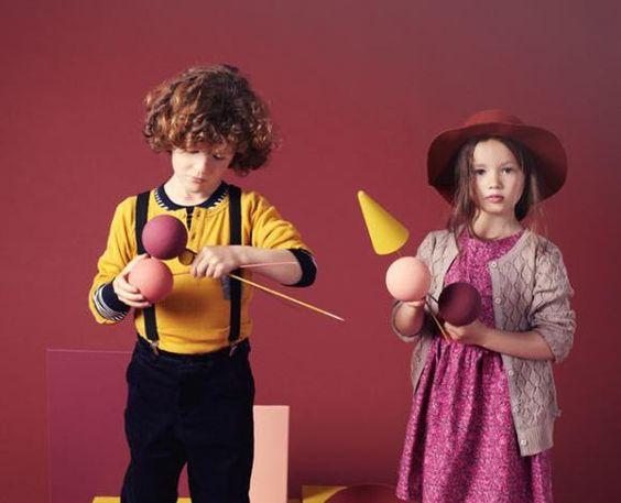 Ciff kids campaign © Melanie Rodriguez - Style Deborah Sfez- set design Marie Mersier