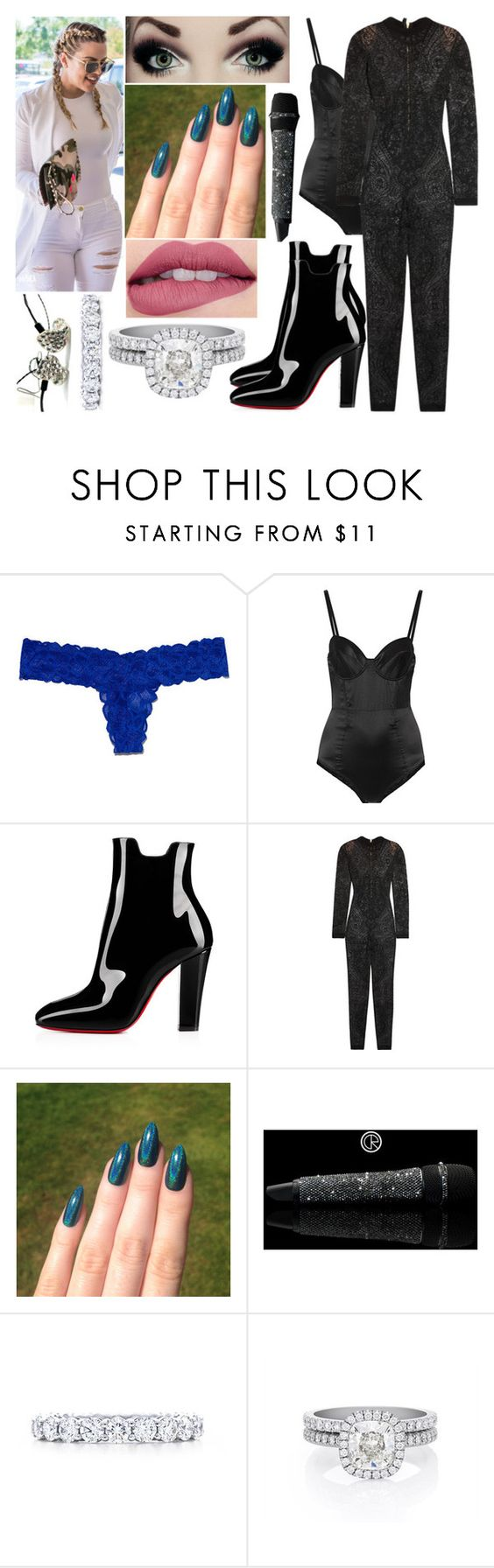 """Dimanche 19 Juin 2016 Soir (20H)"" by laurie-2109 ❤ liked on Polyvore featuring Victoria's Secret PINK, Fleur du Mal, Balmain, Kylie Cosmetics, Tiffany & Co. and De Beers"