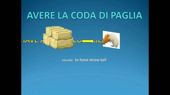 ITALIAN LESSONS - Italian Idioms Part 2 - Espressioni idiomatiche italia...