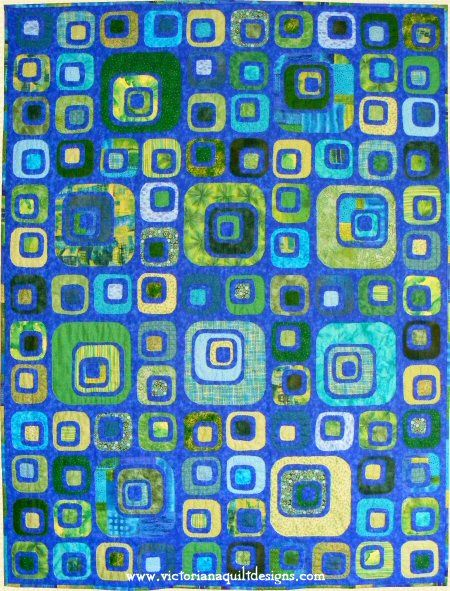 Cubism Quilt Pattern - It's easy and super fun to make! http://victorianaquiltdesigns.com/VictorianaQuilters/PatternPage/Cubism/Cubism.htm