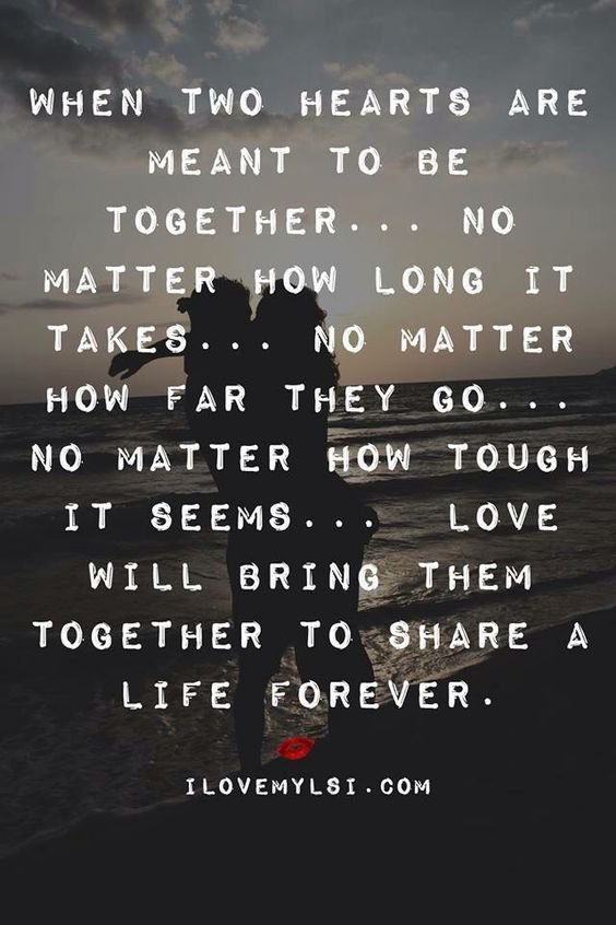 this couldn't be more true... both of us in relationships we THOUGHT were love...until we got together and really saw what love is. so glad i met you derek Michael