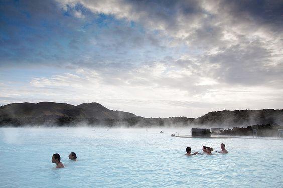 'Steamy Bath', Iceland, Reykjavik, The Blue Lagoon / WanderingtheWorld (www.LostManProject.com), via Flickr