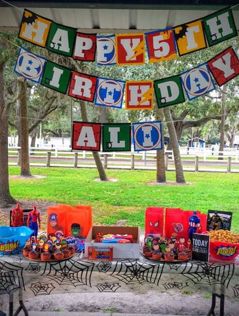 Live.. Learn.. Laugh: Ali's 5th Superhero Birthday Party!
