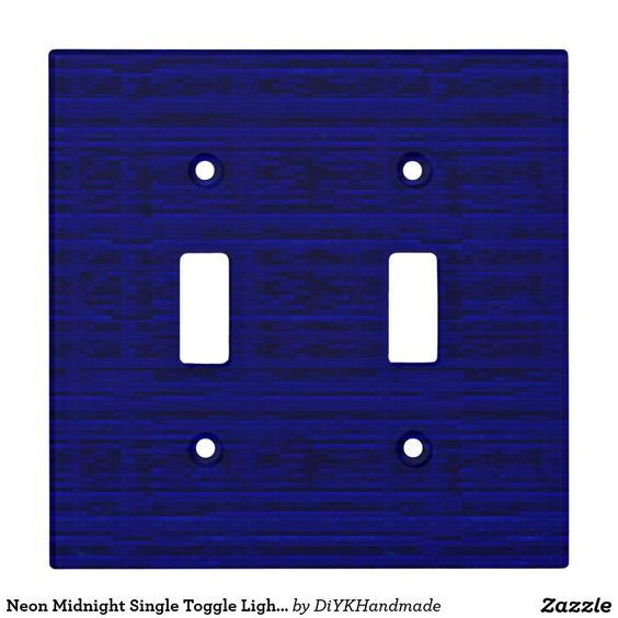 #Neon #Midnight #Double #Toggle #Light #Switch #Cover