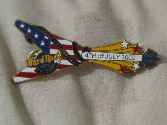 A Junkee Shoppe Junk Market Stop: HARD ROCK Hotel Las Vegas 02 Staff 4th of July Pinback ... For Sale Click Link Here To View >>>> http://ajunkeeshoppe.blogspot.com/2015/12/hard-rock-hotel-las-vegas-02-staff-4th.html