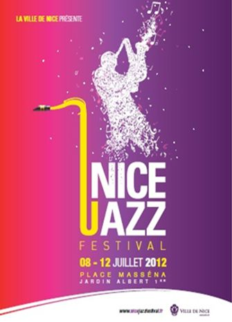 affiche Nice #jazz Festival (France) 2012