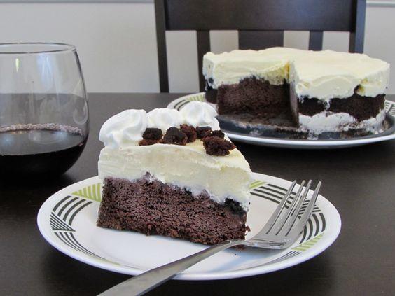 Gluten Free Devil's Food Ice Cream Cake