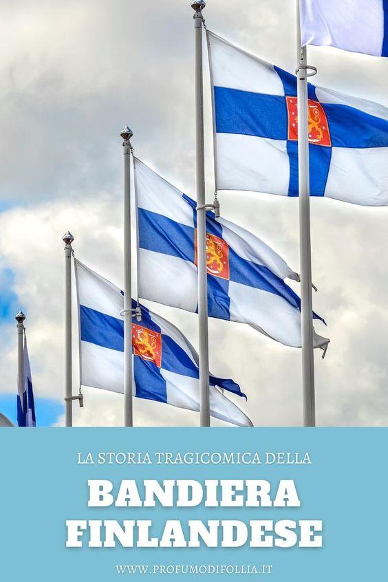 Bandiera Finlandia: immagine Pinterest