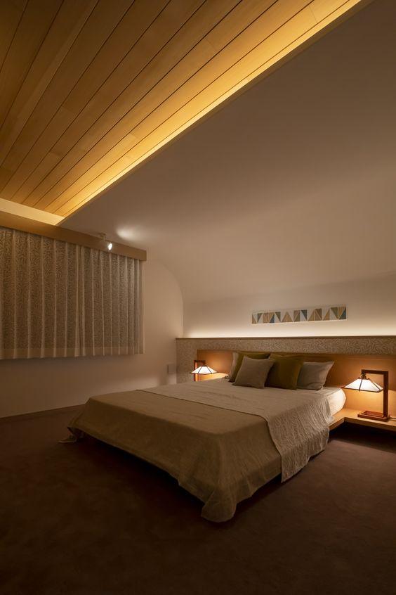 コープ照明 寝室 コーディネート例
