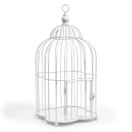 Cage Poésie blanche