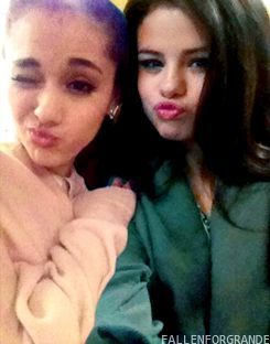 Selena Gomez and Ariana Grande: