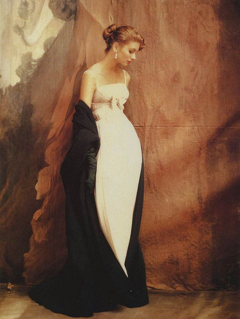 Suzy Parker in Jacques Griffe Gown, 1953
