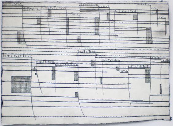 o.T., 2005, Tusche, 29,5 x 41,5 cm / Hanns Schimansky