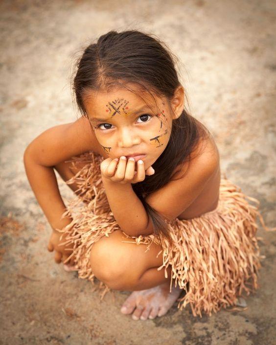 Момиче от Амазонка, Манаус, Бразилия: