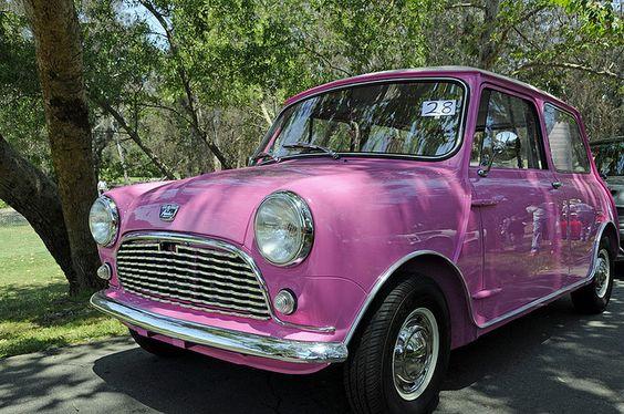 I want it! A classic Mini Cooper <3
