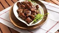 Slow Cooker Grilled Spicy Chili-Glazed Riblets, sounds like a soon to be favorite for my kids!