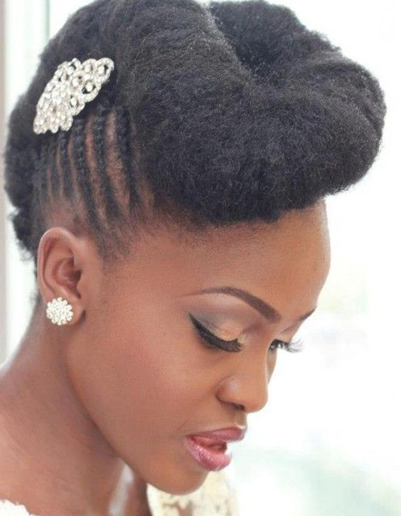 coiffure africaine pour mariage httplemariagexyzcoiffure africaine - Point Mariage Perpignan
