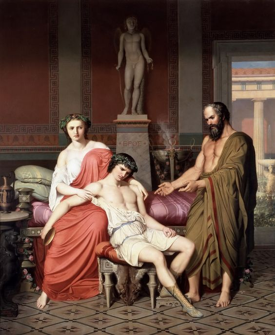 alcibiades and socrates relationship