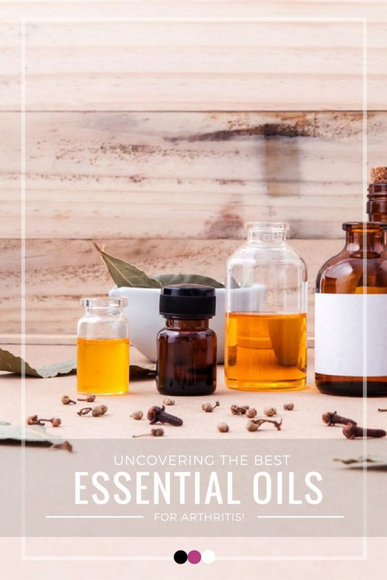 Time to uncover the best essential oils for arthritis pain and other symptoms!: