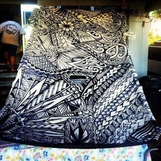 Samoan Art Designs : I love this samoan tribal loveit samoa pinterest