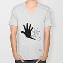 Rabbit Hand Shadow T-shirt by Mobii   Society6