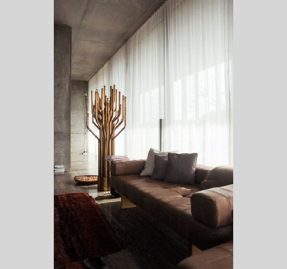 LIVING ROOM DESIGN IDEAS 50 GOLD LAMPS Home design, Home and