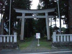 篠座神社は縁結びの神様として有名な大己貴大神が祀られています tags[福井県]
