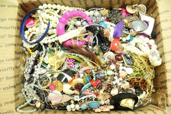 HUGE 16 LBS Vintage to Modern Costume Craft Jewelry Lot Wear Repair Craft by paststore on Etsy