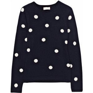 Chinti and Parker Polka Dot Cashemere Sweater.