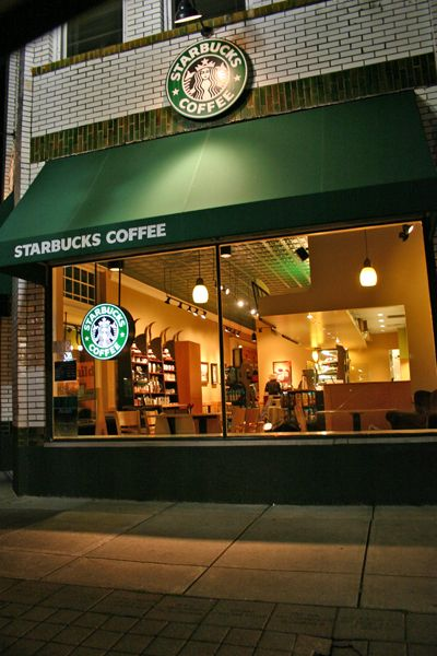 Starbucks: One of my favorite places. I wish they had one where I live, but then again, maybe it's a good thing.