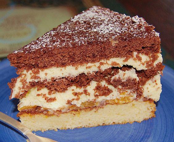 Chefkoch.de Rezept: Meine Eierlikör - Torte