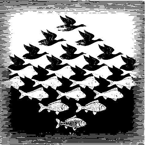 De illusies van Escher