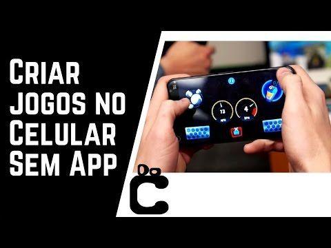 Criar Um Jogo Ou App Pelo Android Youtube Android App Criar