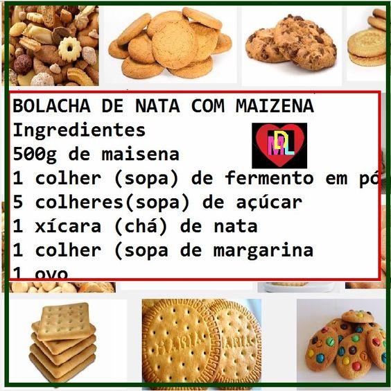 BIOGRAFIAS E COISAS .COM: RECEITAS DE BOLACHA