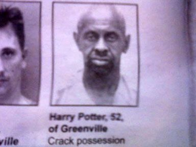 Harry Potter...Crack-head.