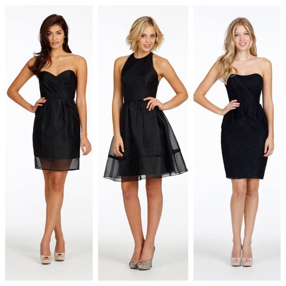 Jim Hjelm Occasions, from left to right: styles 5419, 5418, 5421.